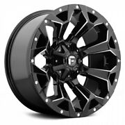20 Inch Black Wheels Rims Lifted Dodge Ram 2500 3500 Truck 8x6.5 Lug Fuel D576