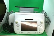 Nintendo Wii U Console With Game Pad Power Supplies And Sensor Bar 8gb Wup-001