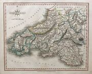 1809 Antique Map South Wales - John Cary, New And Correct English Atlas