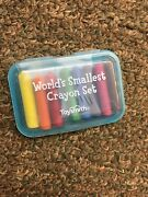 Individual Worlds Smallest Crayons Works For 18 Doll Toysmith Random Color