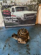 Farmall 400 450 Gas Tractor Engine Water Pump Assembly W/ Fan And Belt Pulley