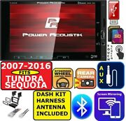 Fits 07-16 Toyota Tundra And Sequoia Am/fm Bluetooth Usb Sd Aux Car Radio Stereo