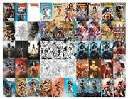 Wonder Woman 750 Complete Set 🔥 All 50 Covers 🔥 Lee Ross Campbell Ejikure Maer