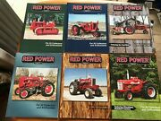 Lot Of 6 International Harvester Red Power Magazines Full 2004 Year Tractor Farm