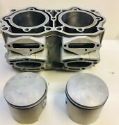 Sea Doo 951 Carb Motor Cylinder Kit Bored And Honed With New Pistons And Gaskets