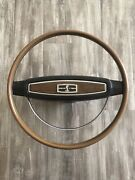 1968 Shelby Mustang Factory Original Steering Wheel Gt350 Gt500 Gt500kr