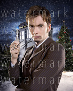 David Tennant Doctor Who Signed 8x10 Inch Reprint Photo Poster Autograph Rp