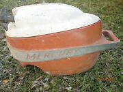 Rare Original Antique Vintage 1950s Mercury Outboard Motor Cover With Recoil