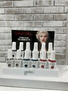 Gelish Nail Polish Marilyn Monroe Collection 12 Bottles With Stand And Color...