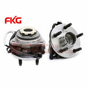 2 Front Wheel Bearing Hub For 98-00 Ford Ranger Mazda B4000 Abs 4x4 4wd 515027