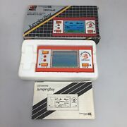 Rare Jumping Boy Lcd Retro Handheld 1980 Game Boxed Superb Condition
