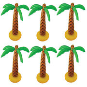 Giant Inflatable Palm Tree 168cm Blow Up Summer Hawaiian Party Fancy Dress Lot