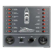 Control Panel Thermo-magnetic Switches Powerboat - 1 Pz Osculati 14.809.00 - 14