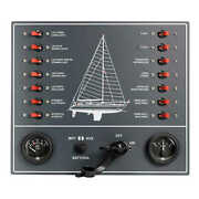 Control Panel Thermo-magnetic Switches Sailboat - 1 Pz Osculati 14.809.01 - 148