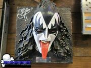 Kiss Gene Simmons Limited Product Autographed Illusive Originals 2764 / 15000