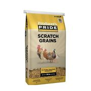 50 Lb Healthy Optimal Nutrition Scratch Grain Feed Supplement For Adult Chickens