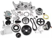 Holley 20-180 Holley Premium Mid-mount Complete Accessory System Ls Swap