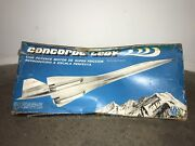 Ultra Rare Vintage Airplane Toy - Concorde By Lili Ledy