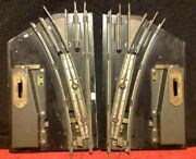 Vintage Pair American Flyer Right Left 3 Rail Switch Turnout Standard Afl 665