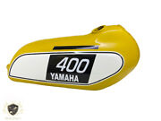 Yamaha 250 Dt / 400 Dt Enduro Yellow Painted Tank 1975 To 1977  fit For