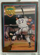 Derek Jeter Signed Action Packed Minor League Rookie Autograph 24k Gold Card Hot