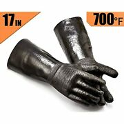 Griller Bbq Heat Resistant Insulated Cooking Gloves For Turkey/pot Holder/oven