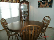 Kitchen Table And China Cabinet Glass Shelves And Dimmer Switch Pick Up Ohio