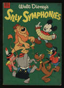 Walt Disney's Silly Symphonies 2 1953 Vg 4.0 Cr/ow Pgs Dell Publishing