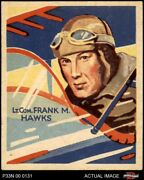 1934 Natio 34 Frank Hawks Can Read Series Of 48 Or 144 Cards On Back 4 - Vg/ex