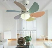Colorful Ceiling Fan Light Professional Lighting Fixture Suitable For Summer New