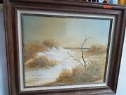 Oil Painting Antique Bryan Keith Smith Signedandnbsp