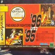 Used Sega Saturn The King Of Fighters Kof Double Pack From Japan