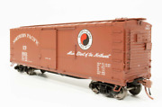 Rapido 1/87 Ho Northern Pacific 40' Boxcar 1950 Large Nomad Rd. 11245 Fs 130018