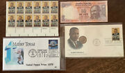 Dr Martin Luther King Jr Gandhi Mother Teresa Stamps And More Peace Makers