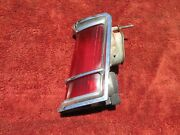 1970 1971 Lincoln Mark Iii Driver Side Tail Light Brake Turn Lens And Housing Lh