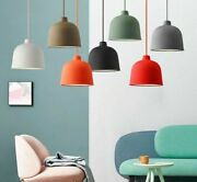 Colorful Pendant Lights Dining Room With Led E27 Resin Adjustable Lampshades New