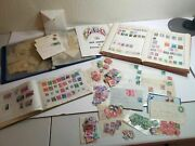 Us +foreign Stamp Collection Albums Loose Postcards Envelopes Starting 1860and039s