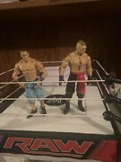Wwe Raw Ring With John Cena And Brock Lesnar Action Figures