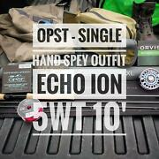 Echo Ion Xl 5wt 10' - Single Hand Spey Opst Outfit - Choose Reel And Head