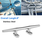8 Stainless Boat Open Base Cleat Hardware Rope Tie Mooring Dock Cleat Hardware