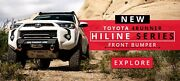 New Body Armor 4x4 2014-20 Toyota 4 Runner Hiline Series Front Bumper Tr-19339