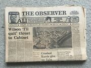 The Observer Newspaper 23rd March 1975 Grimsby Immingham Blockade. Common Market