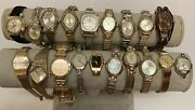 19 Piece Lot Vintage Ladyand039s Watches