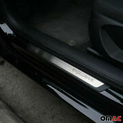 For Toyota Highlander Entry Guard Door Sill Cover Protector S. Steel Exclusive