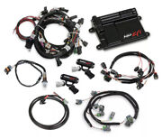 Holley Efi 550-628 Ford Coyote Ti-vct Capable Hp Efi Kit Bosch O2 5.0 Coyote