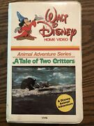 Rare Out Of Print Walt Disney Vhs A Tale Of Two Critters Animal Adventure Series