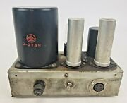 Vintage Raytheon Rps-40 Power Supply Rpc-40 Tube Mixing Console Utc Mixer Tested