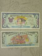 Disney Dollar 1993 1.00 Series And039daand039 Mickey Mouse 65th Anniversary