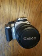 Canon Efs 18-55mm Zoom Lens 13.5-5.6 And Eos Rebel Xt Camera Body