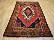 Vintage 1970and039s Antique Handmade Anatolian Turkish Rug 5 Ft X 8 Ft Free Shipping
